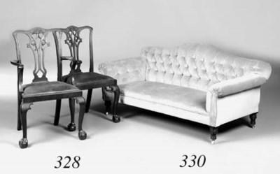 A Victorian sofa
