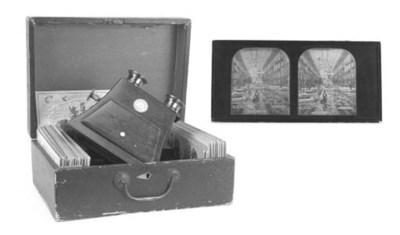 Claudet-pattern stereo viewer