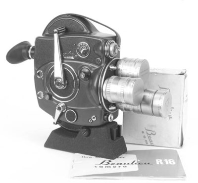 Beaulieu Reflex ciné camera