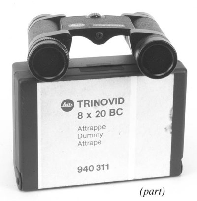Attrappe binoculars