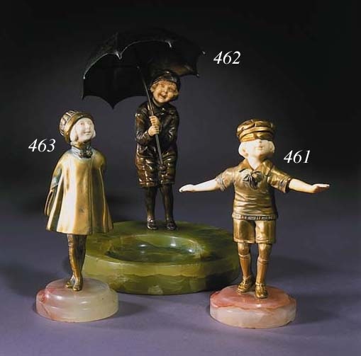 'Child with Umbrella'