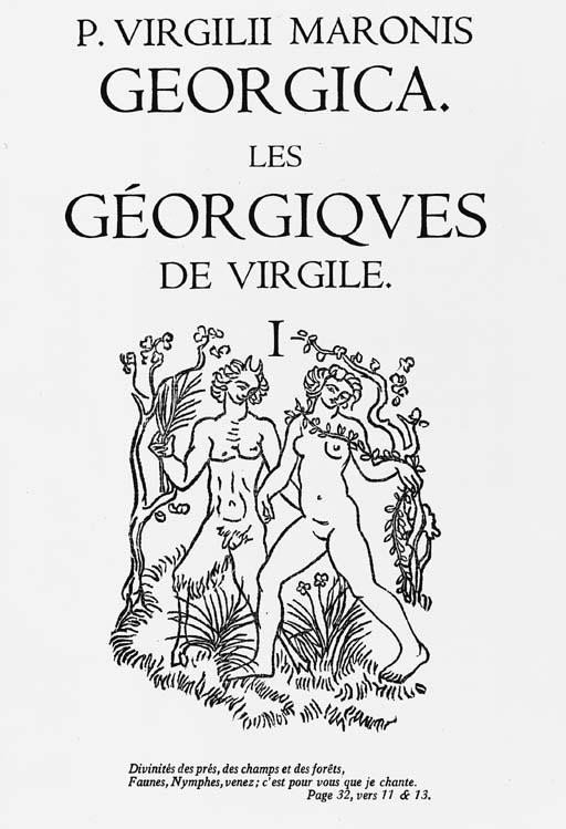 VERGIL. Les Géorgiques.  Texte