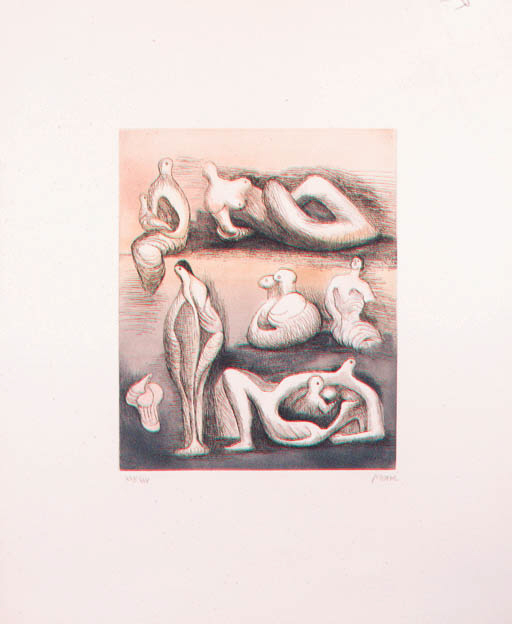 Henry Moore, O.M.,C.H.