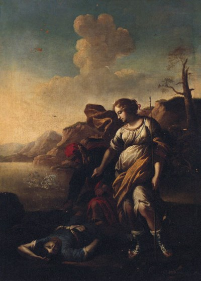 Follower of Salvator Rosa