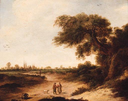Circle of Jan Vermeer of Haarl