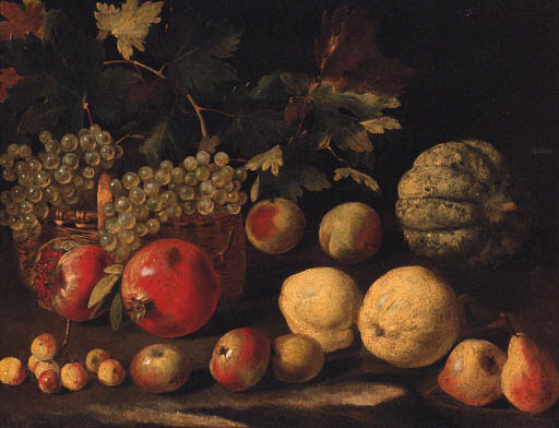 Circle of Abraham Brueghel (16