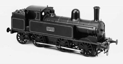 A detailed Gauge I three-rail
