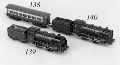A pre-war  Märklin green LNER