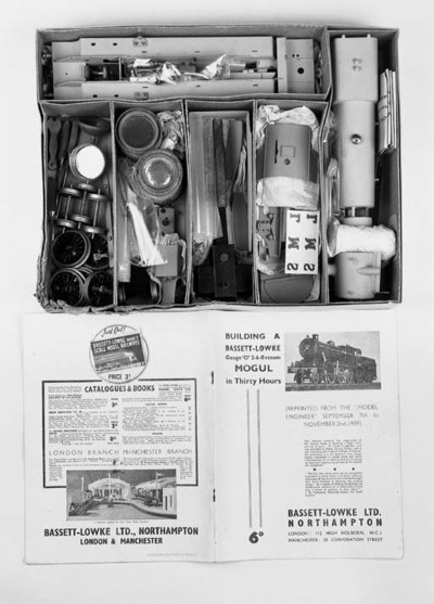 Bassett-Lowke steam Mogul Kit,