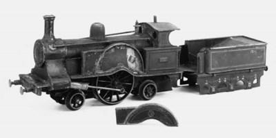A Carette steam 2-2-2 'Lady of