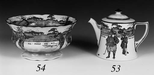 A ROYAL DOULTON SERIESWARE TEA