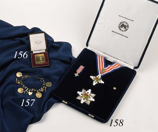 THE GOLD AND ENAMEL MERITORIUS