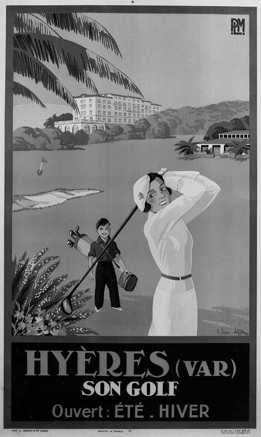 L. Luc-Deje Hyeres son Golf ph