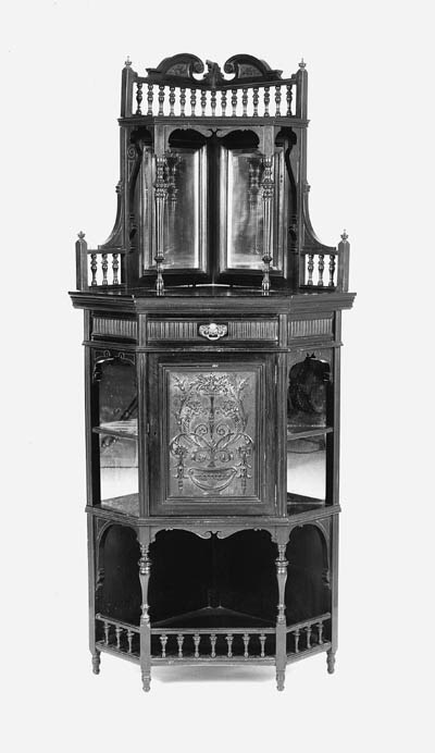 A LATE VICTORIAN ROSEWOOD STAN