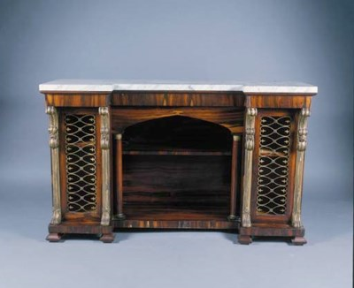A LATE REGENCY ROSEWOOD SIDE C