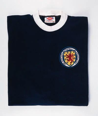 A blue and white Scotland Inte