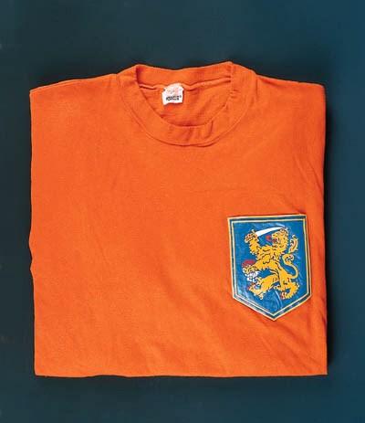 An orange Holland Internationa