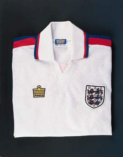 A white, red and blue England