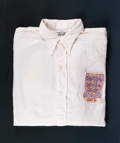 A white England shirt, No.11,
