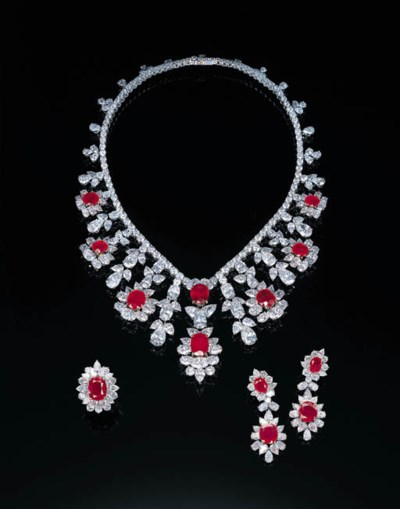 A SUITE OF IMPRESSIVE RUBY AND
