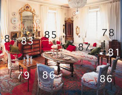 Verschiedene Sitzmöbel, Louis XVI