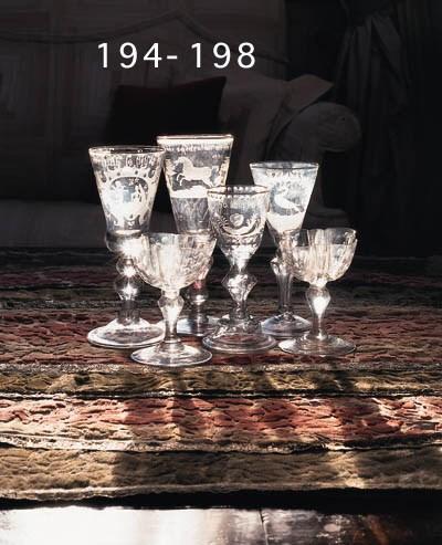 Weinglas, deutsch, wohl sächsi