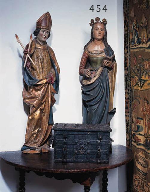 Figur einer Heiligen, Sddeutsc