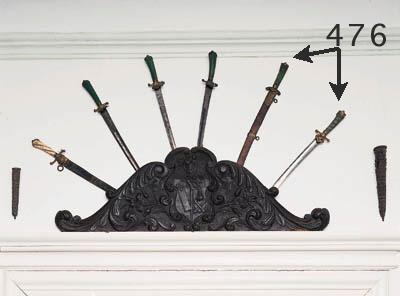 Zwei Jagdschwerter, Deutsch