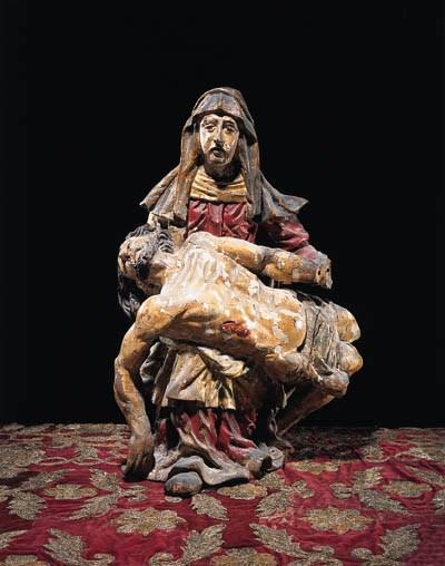 Figur der Pietà, Sddeutsch