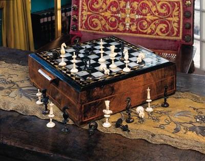 Schachspiel, französisch