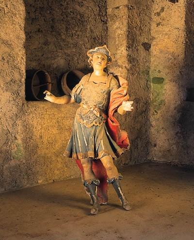 Skulptur eines Soldaten, Itali