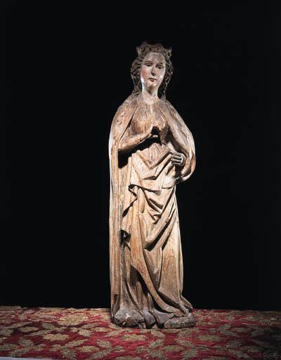 Figur der Jungfrau, Sddeutsch