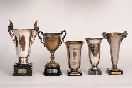 5 assorted trophies - Muguet R