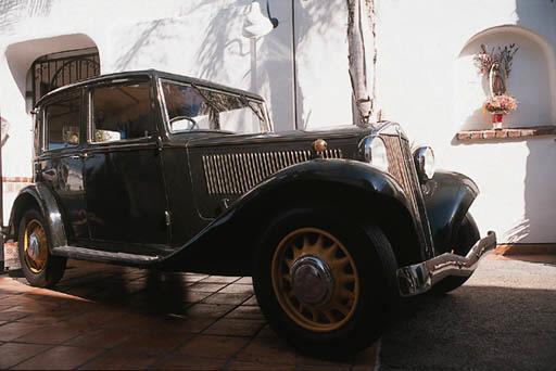 1934 LANCIA AUGUSTA FOUR DOOR