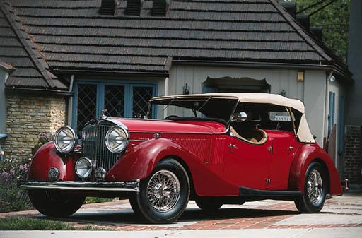 1939 JENSEN MODEL H STRAIGHT E