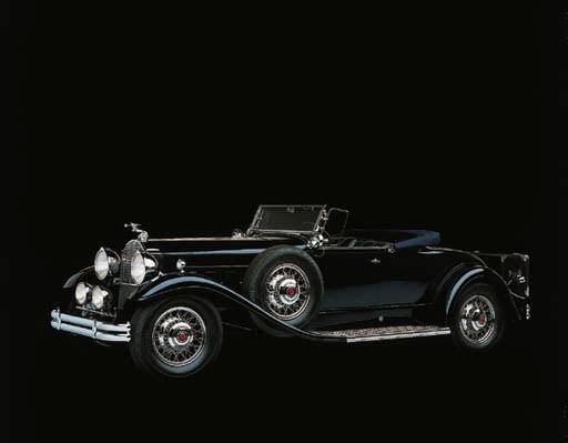 1931 PACKARD MODEL 840 ROADSTE