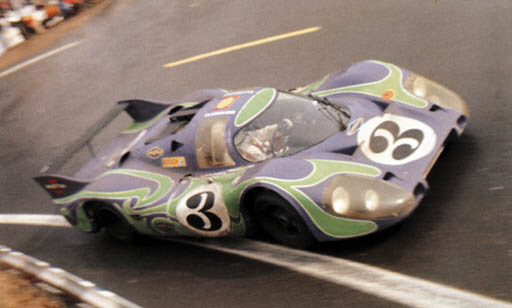 Believed to be the Martini/Gulf Racing 917LH that placed second overrall at the 1970 Le Mans