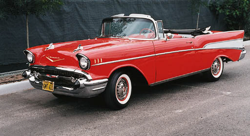 1957 CHEVROLET BEL AIR CONVERT