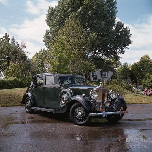 1938 ROLLS-ROYCE WRAITH LIMOUS
