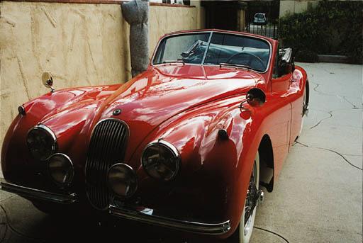 1954 JAGUAR XK120 M DROPHEAD C