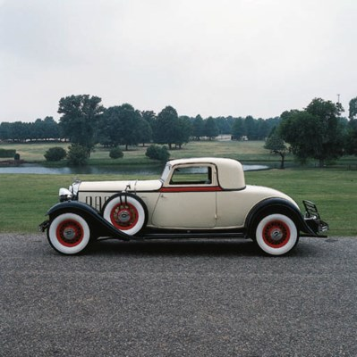 1932 LINCOLN KB COUPE