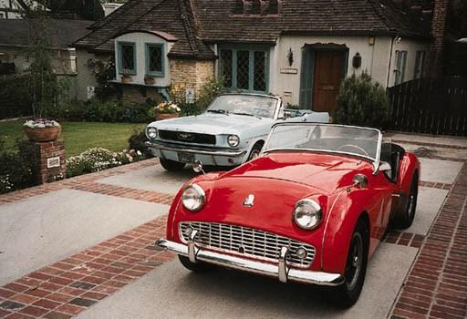 1960 TRIUMPH TR3A SPORTS TWO-S