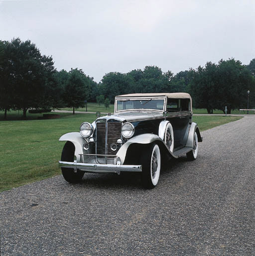 Cadillac V Series For Sale: 1932 MARMON V16 TYPE 145 CONVERTIBLE SEDAN