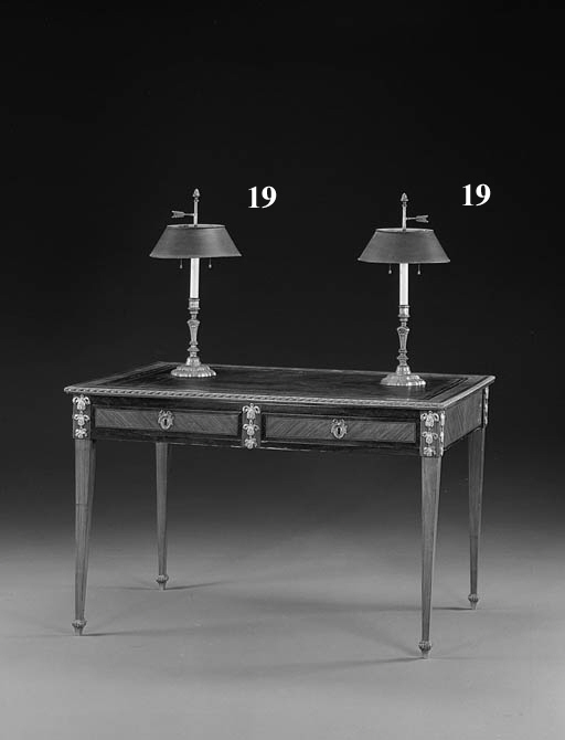 A PAIR OF LOUIS XIV STYLE ORMO