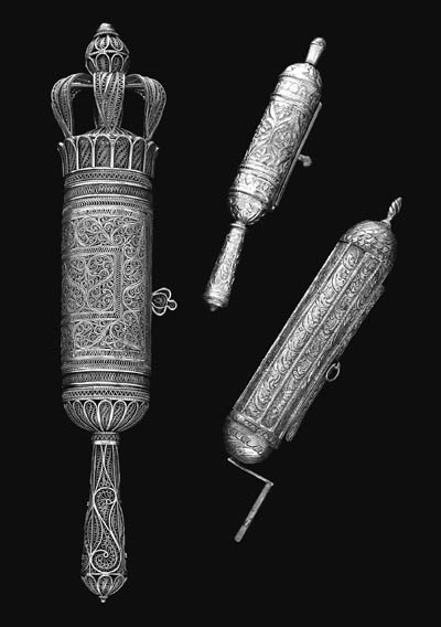 A FILIGREE SILVER CASED ESTHER