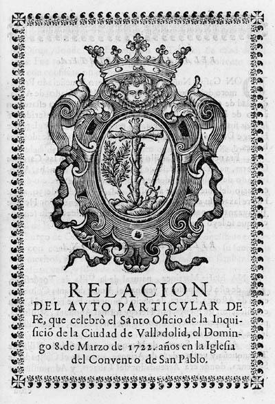 [INQUISITION]. Relacion del Av