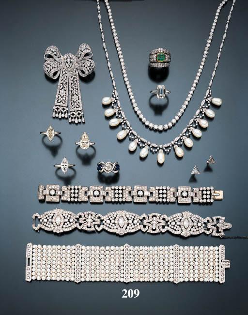 CULTURED PEARL AND DIAMOND BRA