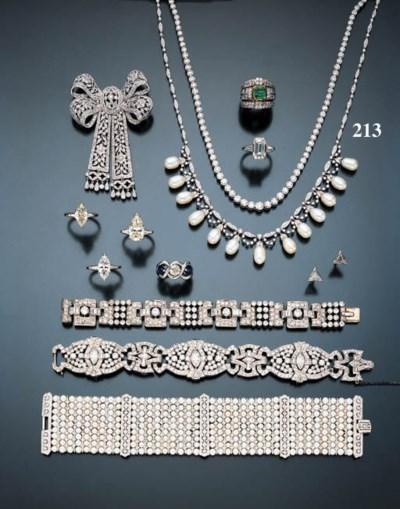 DIAMOND AND CULTURED PEARL NEC