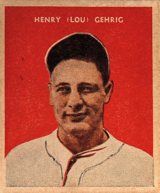 1932 U.S. CARAMEL LOU GEHRIG