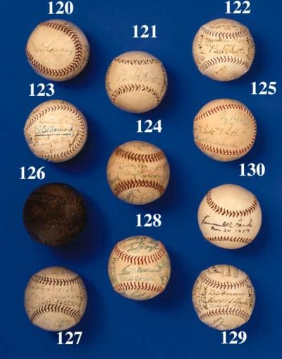 1929 NEW YORK YANKEES BASEBALL